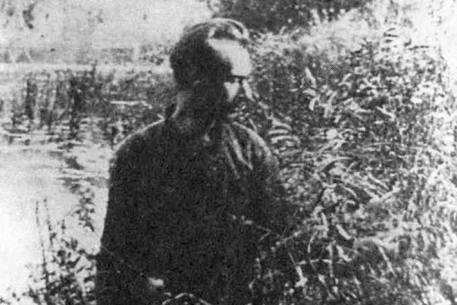 Даниил Андреев в молодости