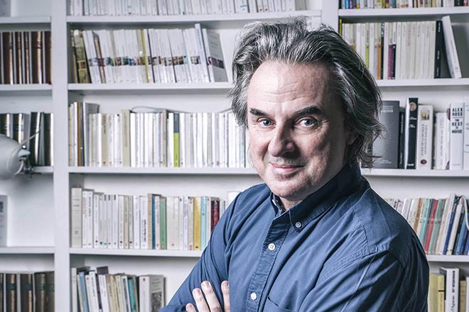Писатель Жан-Кристоф Гранже
