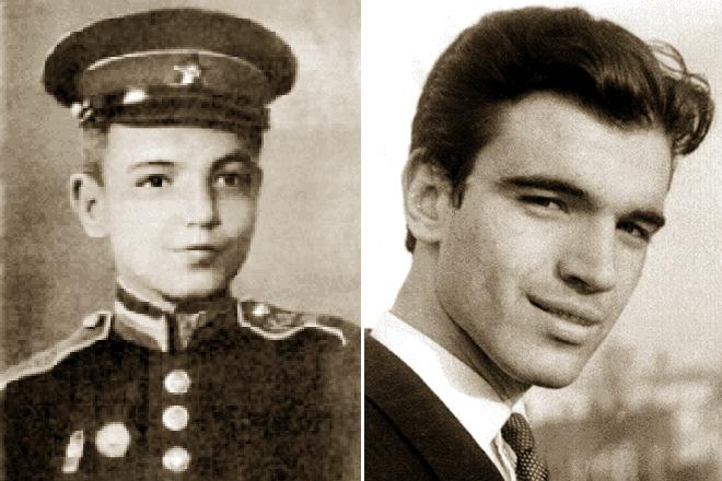 Геннадий Шпаликов в детстве и молодости