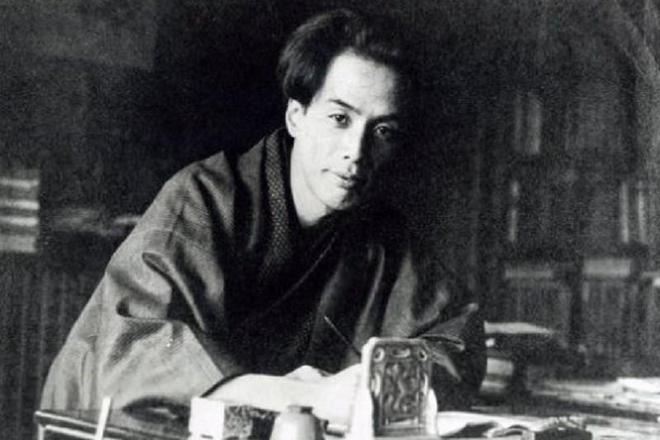 Писатель Рюноскэ Акутагава