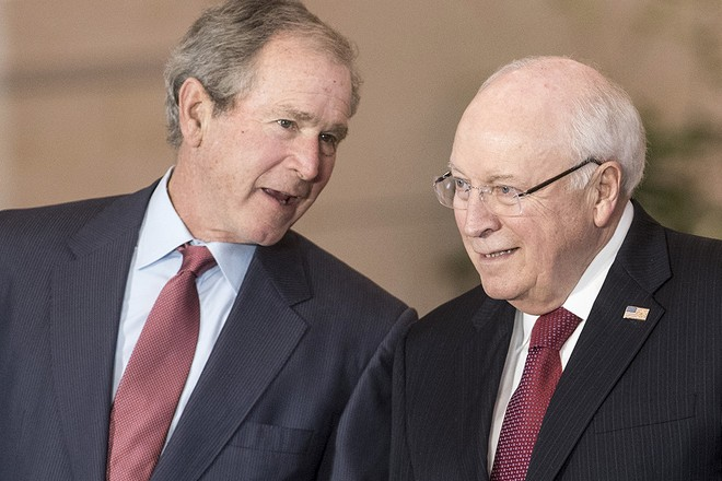 Джордж Буш-младший и Дик Чейни
