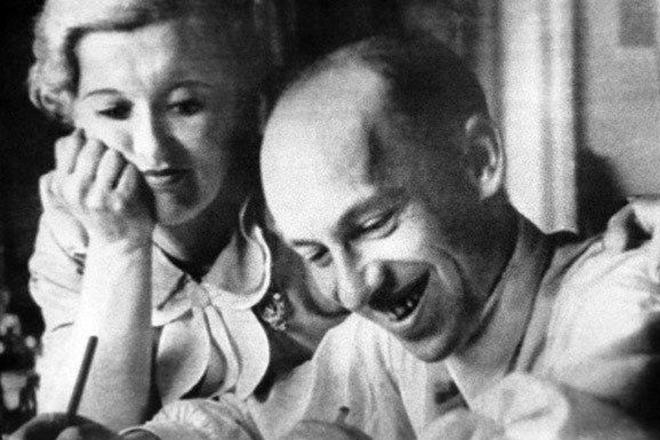 Исаак Дунаевский и Любовь Орлова