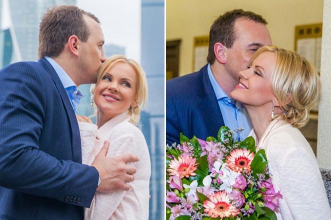 Ирина Ортман и ее муж Роман Бабкин