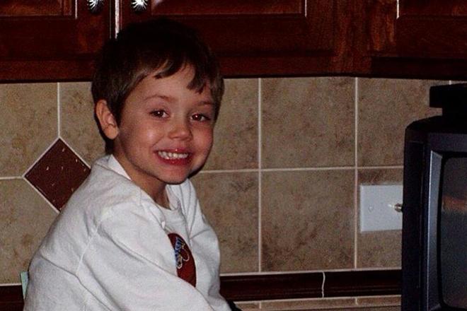 Итан Каткоски в детстве