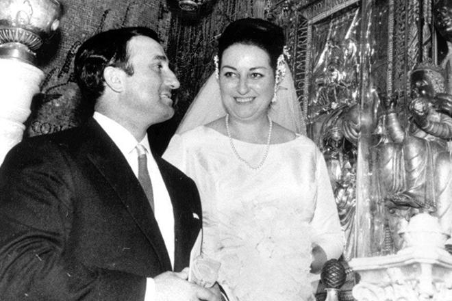 Свадьба Монтсеррат Кабалье и Бернабе Марти
