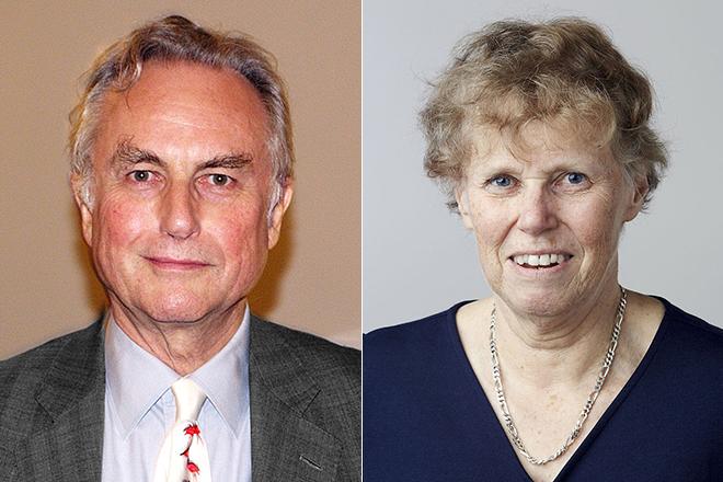 Ричард Докинз и его первая жена Мэриан Стемп