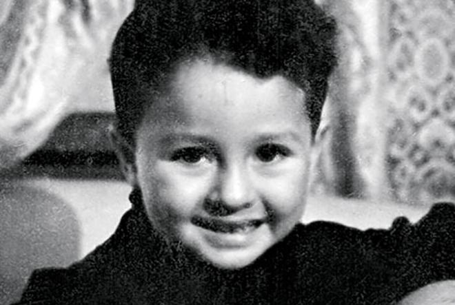 Леонид Якубович в детстве
