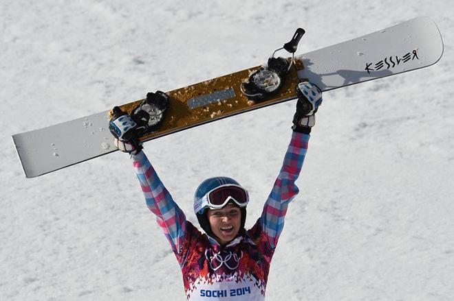 Алена Заварзина и ее сноуборд