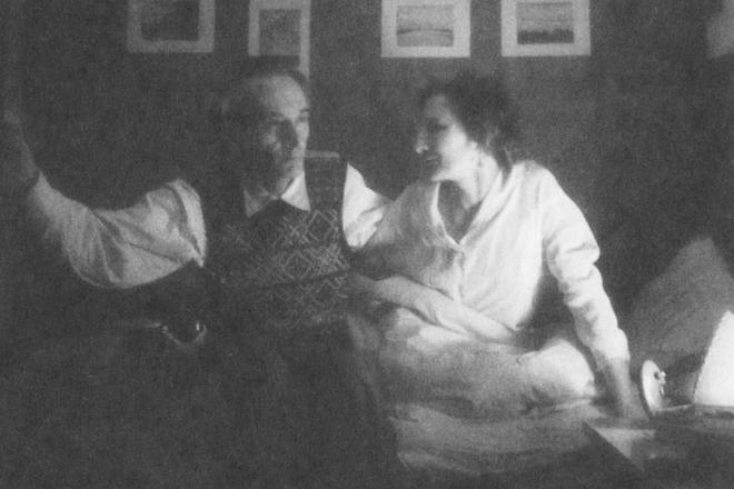 Даниил Андреев и его жена Алла