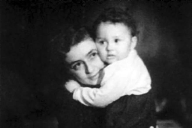 Леонид Якубович с мамой