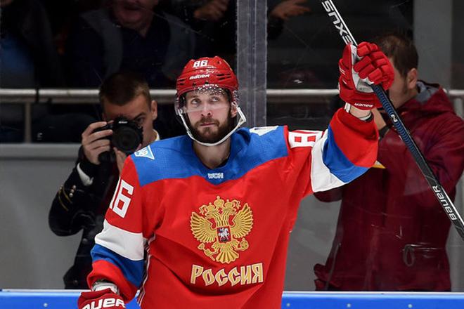 Никита Кучеров в сборной России