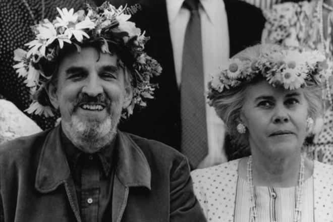 Ингмар Бергман и его жена Ингрид ван Розен