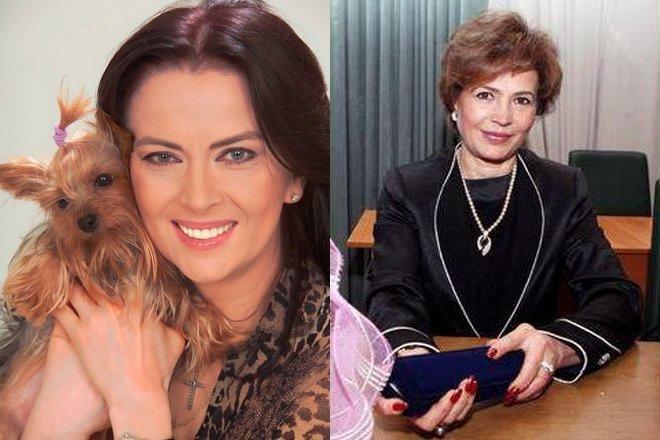 Ирина Дерюгина и Людмила Турищева