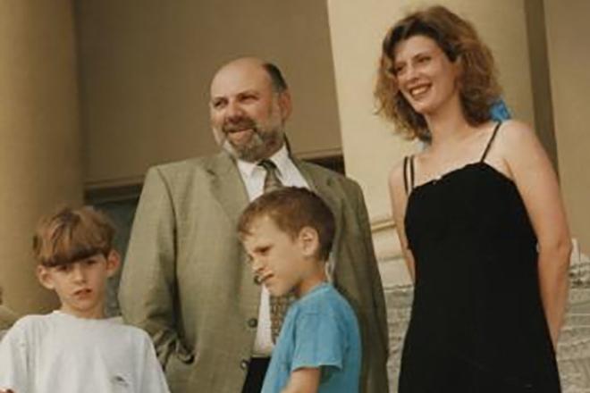 Ирина Метлицкая с семьей