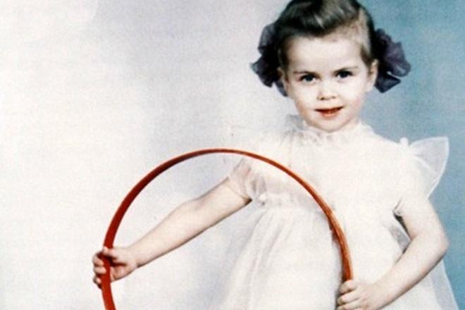 Ирина Дерюгина в детстве
