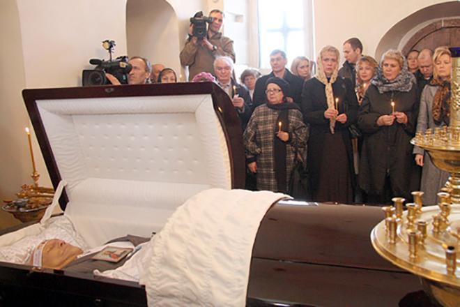 Похороны Александра Пороховщикова