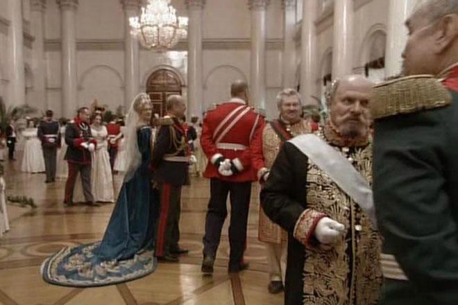 Кадр из фильма Александра Сокурова