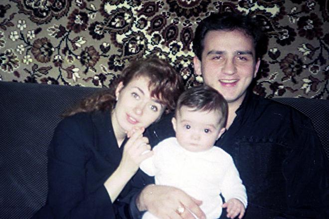 Кантемир Карамзин с семьей
