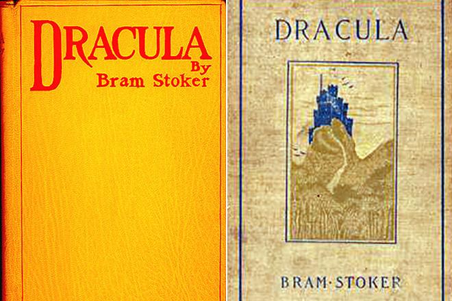 Первые издания книги Брэма Стокера «Дракула»