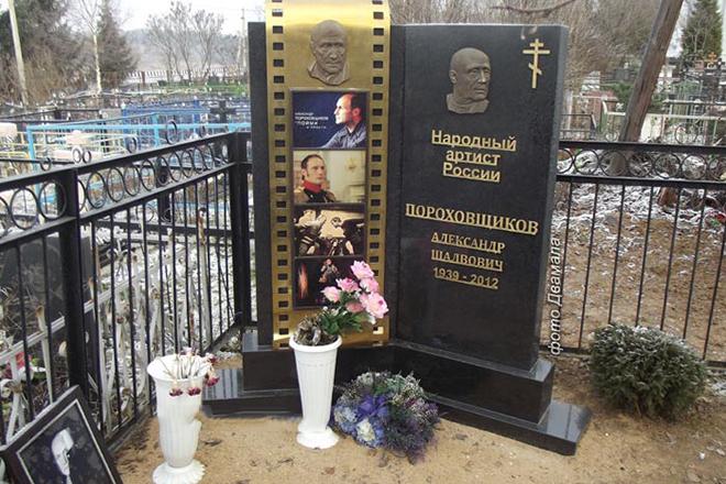 Могила Александра Пороховщикова
