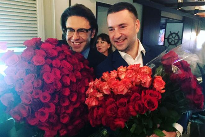 Леонид Закошанский и Андрей Малахов