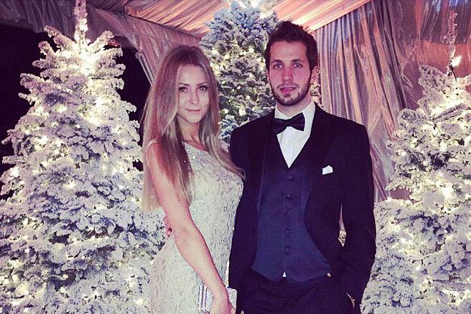 Никита Кучеров и его жена Анастасия