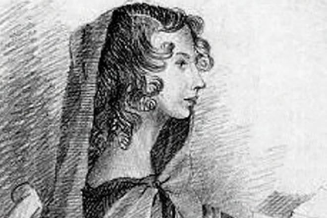 Энн Бронте, сестра Шарлотты Бронте