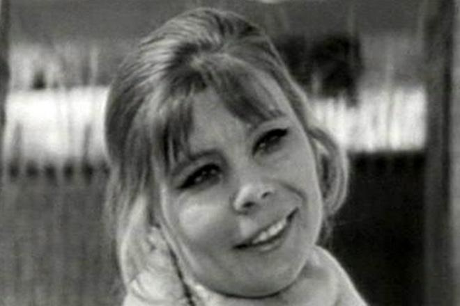 Нина Корниенко в молодости