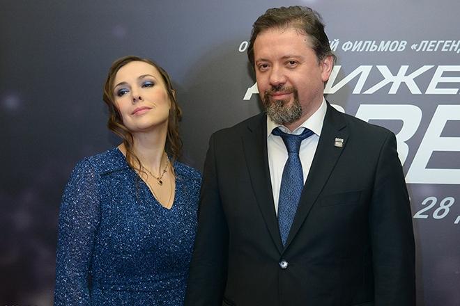 Антон Мегердичев и его жена Елена Панова