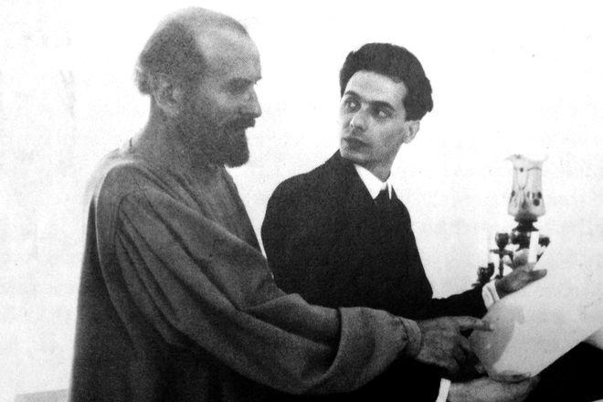 Эгон Шиле и Густав Климт