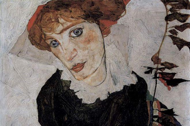 Картина Эгона Шиле «Портрет Валли»