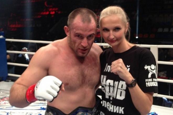 Алексей Олейник и его жена Татьяна