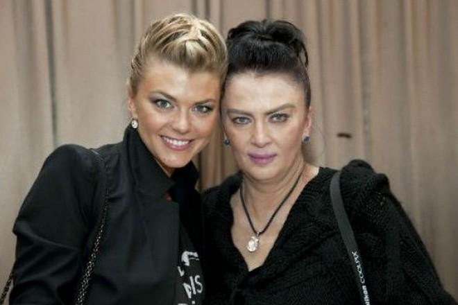 Ирина Дерюгина с дочерью Ириной