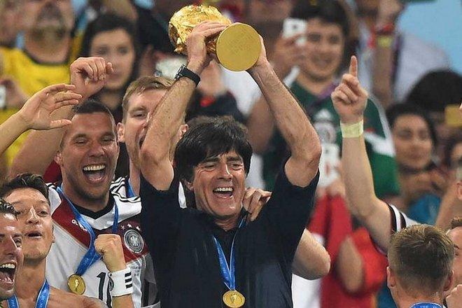 Йоахим Лёв на Чемпионате мира в Бразилии