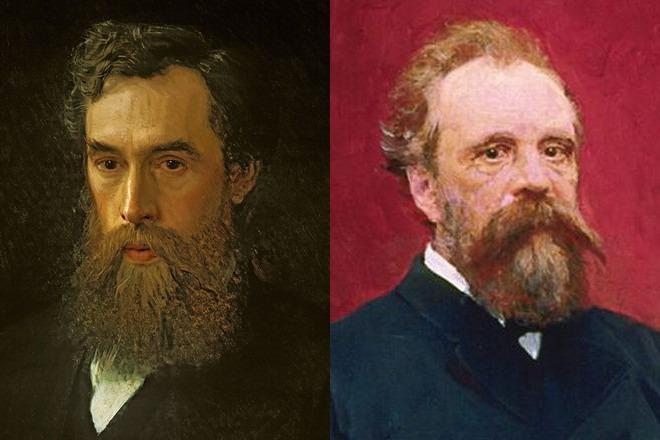 Павел и Сергей Третьяковы