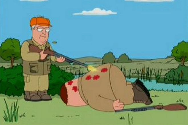 Дик Чейни в мультфильме «Гриффины»