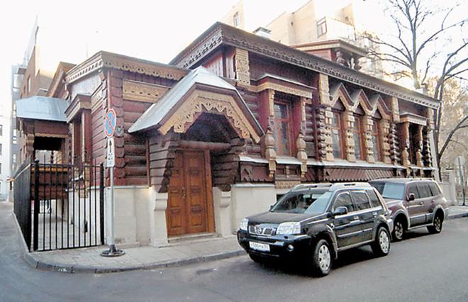 Дом Александра Пороховщикова