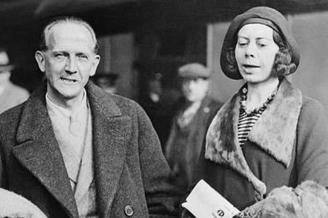 Алан Милн и его жена Дороти