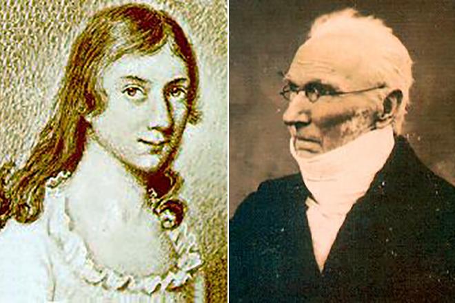 Родители Шарлотты Бронте