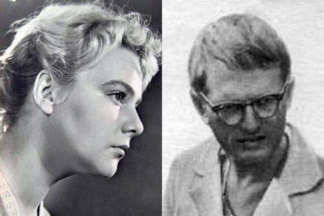Нина Иванова и Радомир Василевский