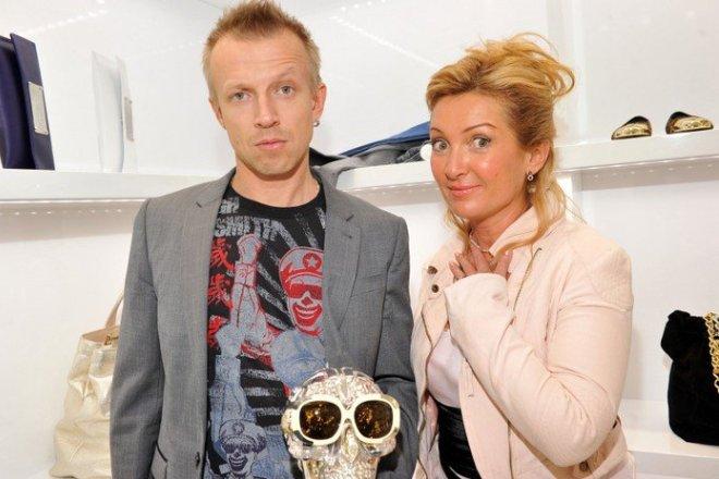 Антон Комолов с женой