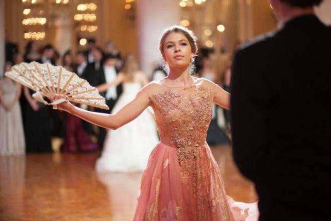 Соня Киперман на «Балу дебютанток TATLER»