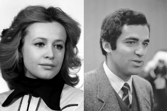 Марина Неелова и Гарри Каспаров