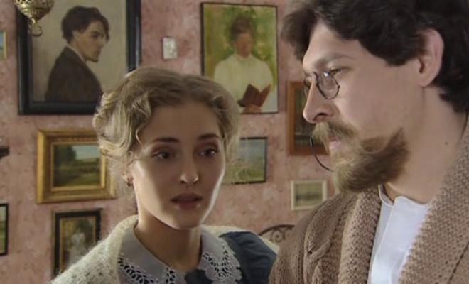 Анна Казючиц в сериале «Прощайте, доктор Чехов»