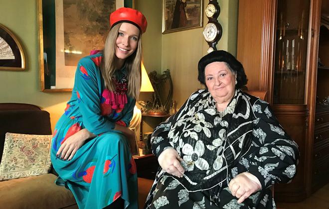 Монсеррат Кабалье и Катерина Осадчая