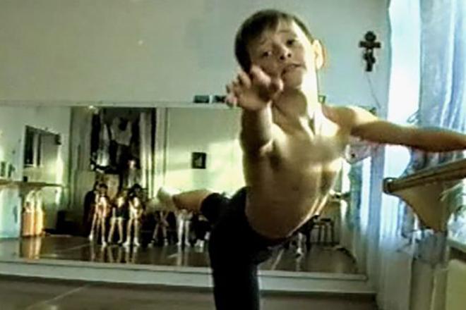 Сергей Полунин в детстве