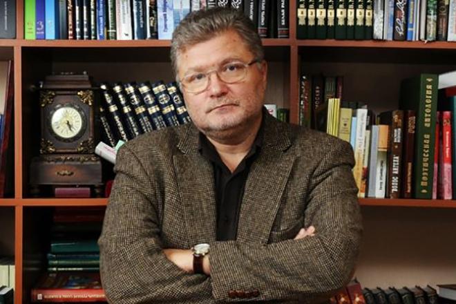Писатель Юрий Поляков