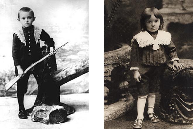 Сергей Королев в детстве