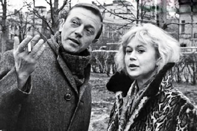 Анатолий Ромашин и Светлана Немоляева