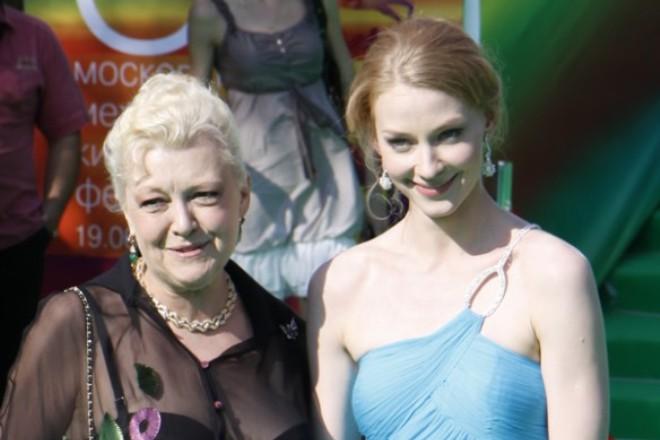 Светлана Ходченкова с мамой